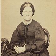 CDV- Civil War Era Lady