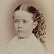 CDV- Sweet Victorian Era Girl