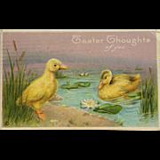 Easter Duckling Pair