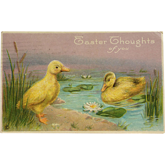 Easter Duckling Pair