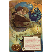 Halloween Goblin And Romance