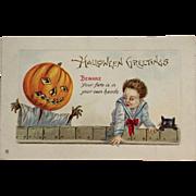 Scary Halloween Jack