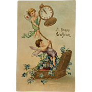 New Year's Fairies Keep Time