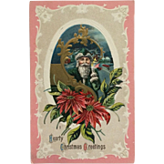 Old World Santa With Candle