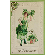 St. Patrick's Day Lass