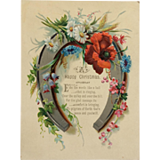 Large Christmas Trade Card Greeting