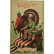 Thanksgiving Ruler Of The Day