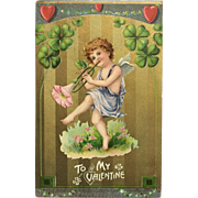 Cupid's Love Song On Flower Trumpet