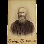 Cabinet Card- Kentucky Gentleman