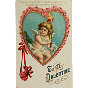 Cupid's Torch Lit For Valentine's Day