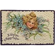 Tuck's- Brundage Little Beauty Easter Postcard