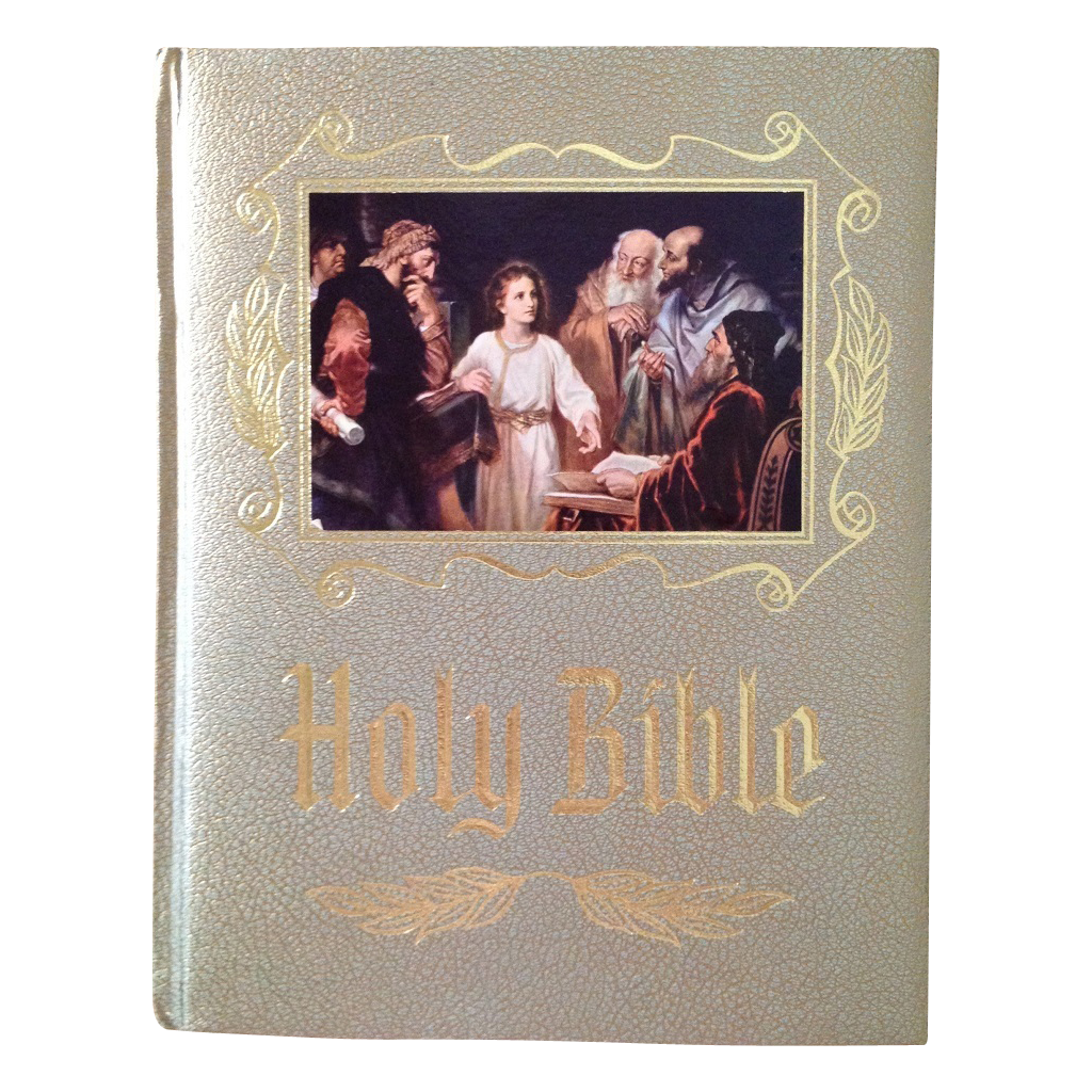 Vintage Leather Look Jeremiah Verse Bible Book Cover Large: King James, Red Letter Edition SOLD On Ruby Lane
