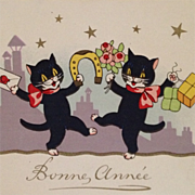 Dancing Kitty Kats Celebrate The New Year