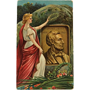 Chapman- Abraham Lincoln Crowned With Laurel Wreath