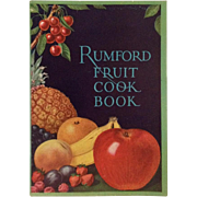 Rumford Fruit Cook Book- 1927