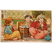Trade Card- Woolson Spice Company-Sindbad The Sailor