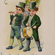 St. Patrick's Day Parade Postcard