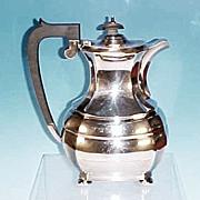 Antique English Silverplate Coffee Pot ROBERT PRINGLE & CO., London, England