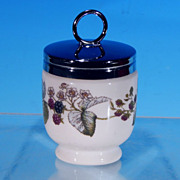 ROYAL WORCESTER LAVINIA Porcelain China Egg Coddle Coddler Standard Size