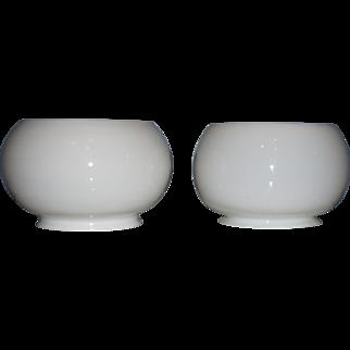 Pair of Opal Gas Shades