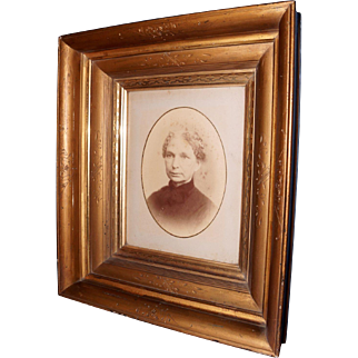Eastlake Picture Frame with Original Photograph