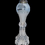 Boston & Sandwich Glass Whale Oil Lamp