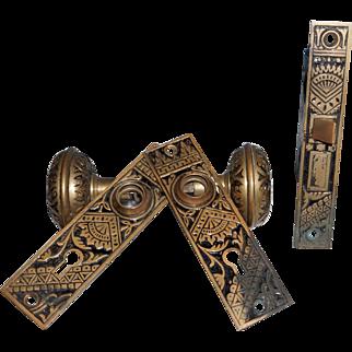 Eastlake Door Lock, Knobs and Escutcheons