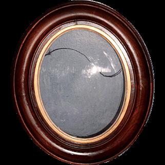 Oval Walnut Victorian Frame