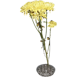 Glass Flower Frog or Stand