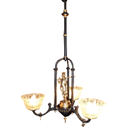 Three arm Gas Chandelier