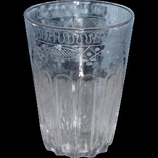 Engraved Flip Glass