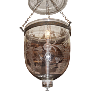 Late 19th Century Candle Hall Lamp