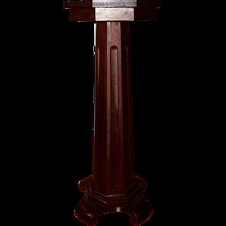 Empire or Colonial Revival Lamp/Plant Pedestal