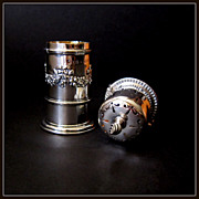 Victorian Sterling Silver Muffineer - Sugar Shaker - Castor by Henry Matthews Dated 1900
