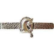 Hand Hammered Margot de Taxco Sterling Silver Money Clip - Tie Bar