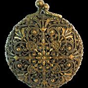 Ornate Vintage Coin Purse Gorgeous Filigree