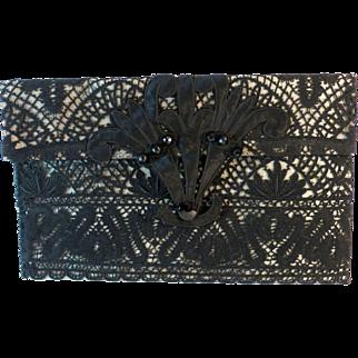 Vintage Lingerie Case Purse Clutch