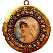 Vintage Locket For Your Doll