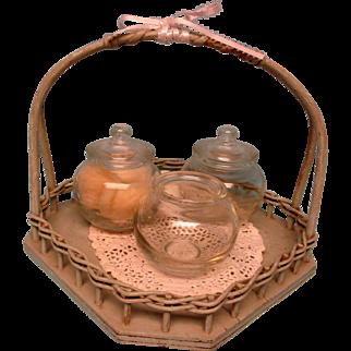Vintage Wooden Basket - Very Pretty!!