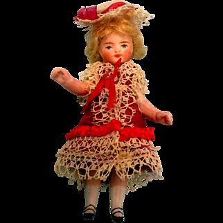 MINTY French Mignonette Has Wardrobe - All Original
