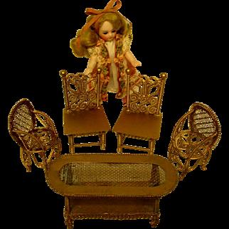 Antique Wire Furniture Set