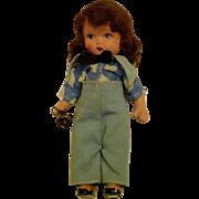 Nancy Ann Storybook Earliest Made In Japan Mold  Boy Blue
