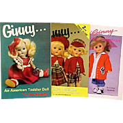 Three Reference Books For Vogue Ginny Dolls