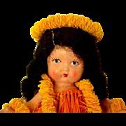 "RARE Nancy Ann Storybook ""Hawaiian"" First Dolls Made"