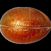 Antique Golden Egg For Mignonettes or Treasures