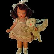 """Pussy Cat""  Nancy Ann Doll ~ Pudgy"