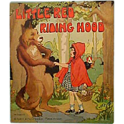 Red Riding Hood Book Platt & Munk 1934