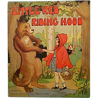 Red Riding Hood Book Platt & Munk 1934