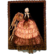 Rare Half Doll Picture For Your Wall