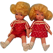 Earliest Japan Mold Nancy Ann Dolls - Brother & Sister - Red Tag Sale Item